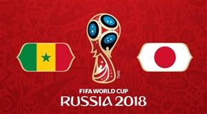 خلاصه بازی ژاپن 2 - سنگال 2 (جام جهانی روسیه)