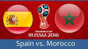 ترکیب احتمالی اسپانیا و مراکش