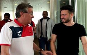 حضور سروش رفیعی در باشگاه پرسپولیس