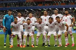 رتبه ایران در رنکینگ بعدی فیفا چند است؟