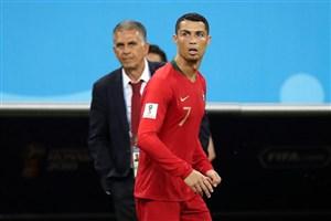 نشست مطبوعاتی کیروش پس از بازی با پرتغال