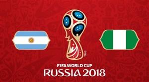 خلاصهبازی نیجریه 1 - آرژانتین 2 (  جامجهانی روسیه)
