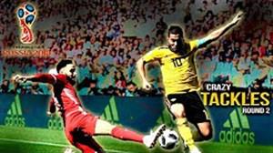 بهترین دفاع ها و تکل های جام جهانی 2018