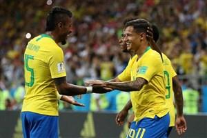 برزیل 2- صربستان صفر/ سلسائو، آلمان نشد