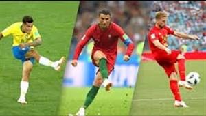تمام گل های مرحله گروهی جام جهانی 2018