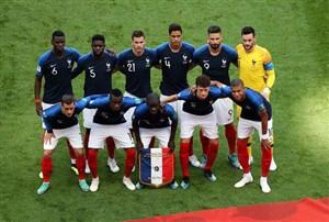 رونمایی از ۱۱ بازیکن اروگوئه و فرانسه