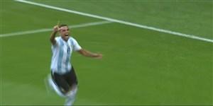 گل دوم آرژانتین به فرانسه (مرکادو)