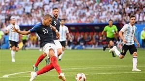 واکنش امباپه به درخشش برابر آرژانتین