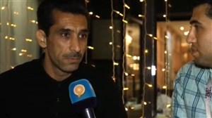 صحبتهای سخندان و منصوری پس از بازی فرانسه-آرژانتین