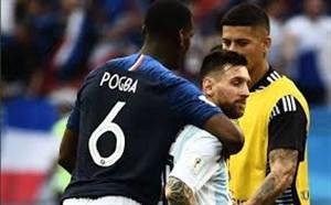 پوگبا: ده سال است که مسی بهترین بازیکن دنیاست