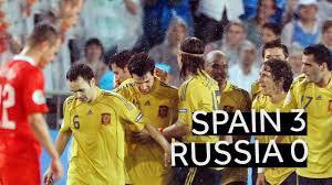 بازی خاطرهانگیز اسپانیا 3 - روسیه 0 (یورو 2008)