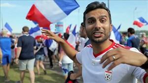 گزارش جذاب میثاقی از بازی فرانسه و آرژانتین