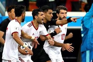 لحظات جذاب و خاطره انگیز تیم ملی ایران در روسیه