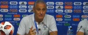 کنفرانس خبری قبل از بازی برزیل - مکزیک