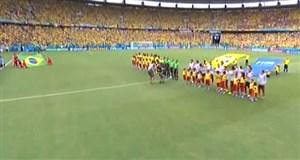 پیشبازی دیدار برزیل-مکزیک