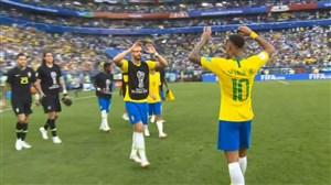 واکنشهای بازیکنان و هواداران پس از بازی برزیل-مکزیک