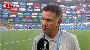 صحبتهای مربی مکزیک پس از بازی با برزیل