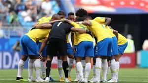 اعلام ترکیب تیمهای برزیل و بلژیک