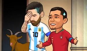 یک هشتم نهایی جام جهانی روسیه به روایت انیمیشن