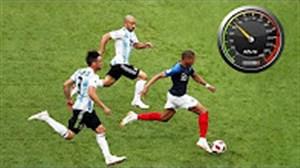 سریعترین بازیکنان فوتبال در فصل 19-2018