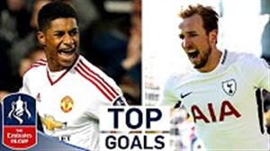 10 گل برتر جام حذفی انگلیس در فصل 20-2019