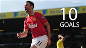10 گل برتر رایان گیگز در منچستریونایتد