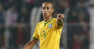 میراندا، کاپیتان بعدی برزیل در دیدار مقابل بلژیک