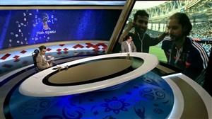 گزارش میثاقی از حال و هوای ورزشگاه نیژنی پس از برد فرانسه