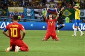 نگاهی متفاوت به دیدار برزیل - بلژیک