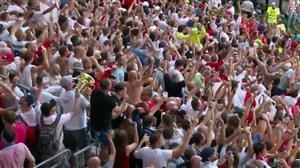 واکنشهای بازیکنان و هواداران بعد از بازی سوئد و انگلیس