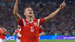 گل اول روسیه به کرواسی (دنیس چریشف)