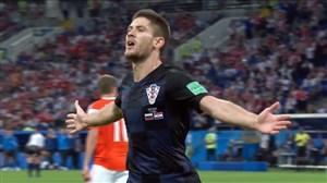 گل اول کرواسی به روسیه (کراماریچ)