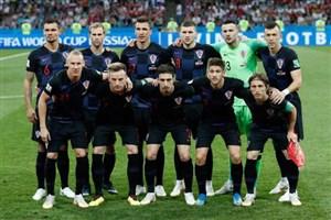 رونمایی از ۱۱ بازیکن کرواسی و انگلیس