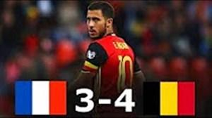 بازی خاطره انگیز بلژیک 4 - فرانسه 3 در سال 2015