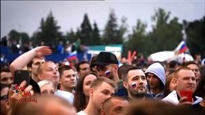 گزارش پوربخش از دیدار روسیه و کرواسی در فن فست فیفا