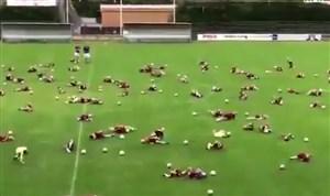 لحظات جالب و طنز مرحله یک هشتم جام جهانی