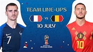 شماتیک ترکیب فرانسه - بلژیک