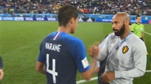 واکنشهای بازیکنان و هواداران پس از بازی فرانسه - بلژیک