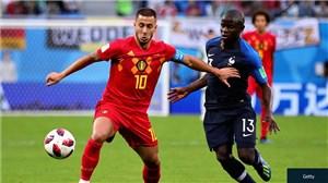 عملکرد ادن هازارد در بازی با فرانسه (روسیه2018)
