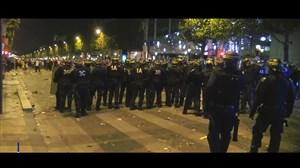 شب نا آرام خیابان های فرانسه پس از صعود به فینال
