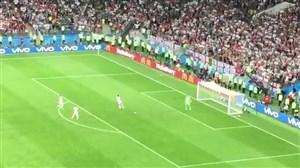 شروع سریع بازی توسط انگلیسی ها پس از گل کرواسی