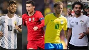 جام جهانی روسیه 2018؛ کابوس مدعیان توپ طلا