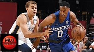 خلاصه بسکتبال نیویورک نیکس - نیو اورلینز پلیکانز