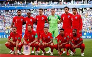 بررسی عملکرد تیم ملی انگلیس تا قبل از رده بندی