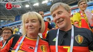 مصاحبه میثاقی با خانواده ای بازیکنان تیم ملی بلژیک