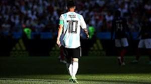 لیونل مسی ناکام ترین فوق ستاره فوتبال در عرصه ملی