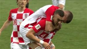 گل اول کرواسی به فرانسه با شوت زیبای پریشیچ