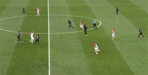 خلاصه نیمه اول فرانسه 2 - کرواسی 1