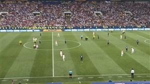 ورود 4 جیمی جامپ همزمان به زمین بازی (فرانسه-کرواسی)