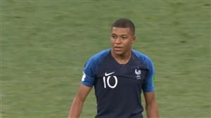 گل چهارم فرانسه به کرواسی (امباپه)
